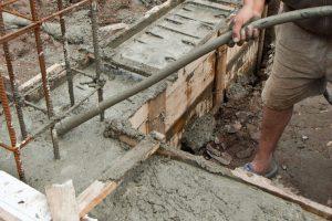 Бетонирование фундаментов частями Одесса